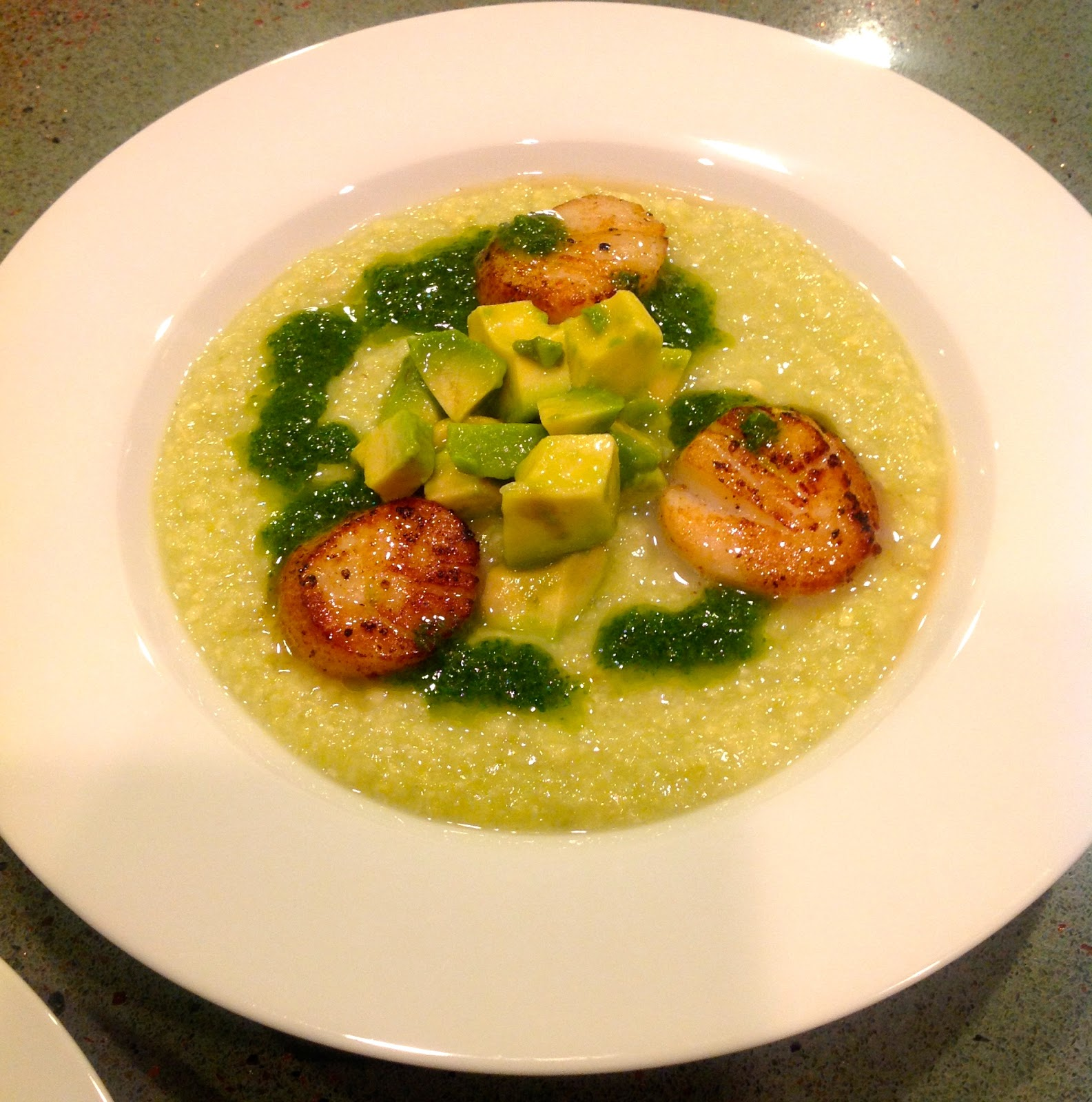 Cold Avocado Corn Soup With Cilantro Oil Recipes — Dishmaps