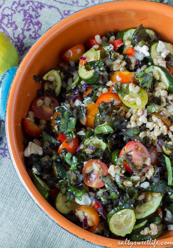 ... farro salad farro salad with lemon basil farro salad with tomatoes and