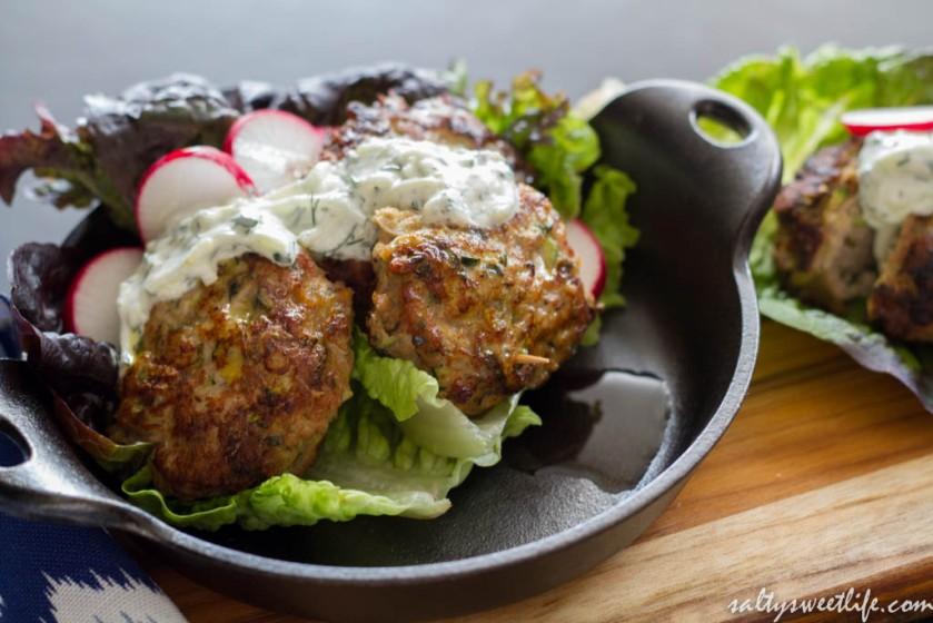 Mini Turkey-Zucchini Burgers