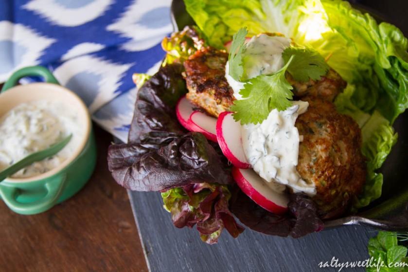 Mini Zucchini-Turkey Burgers