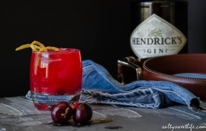 Cherry Drop Martini - Salty Sweet Life