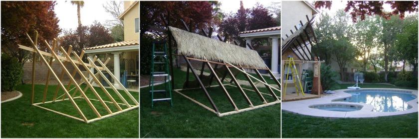 Photos taken during the construction of the Tiki Terrace - 2011. Photos courtesy of Adam Throgmorton