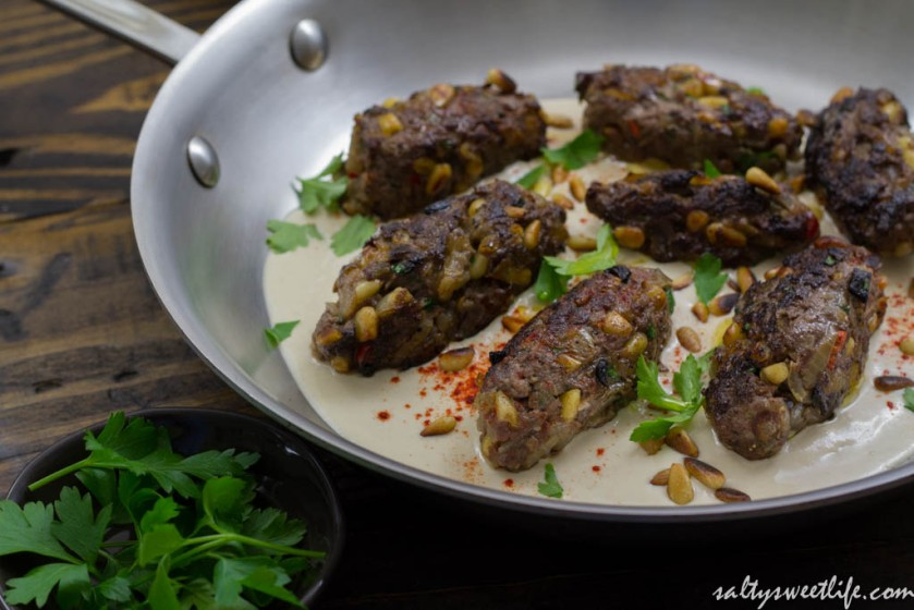 Elk Kofta B'siniyah Adapted from Jerusalem - Salty Sweet Life