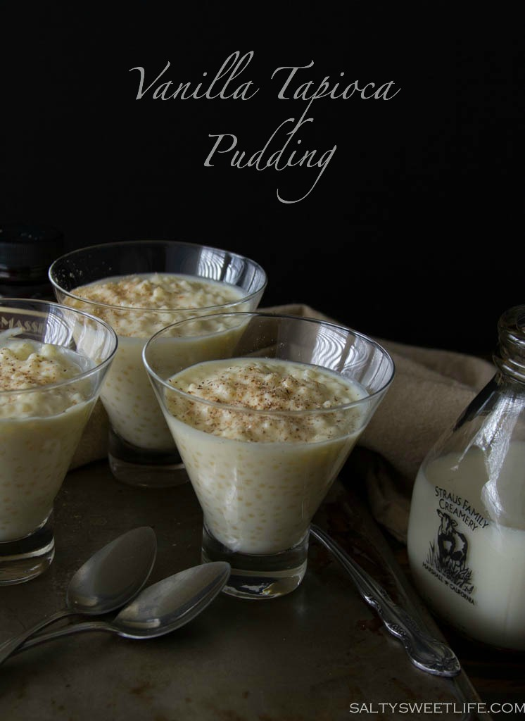 The Best Vanilla Tapioca Pudding - Salty Sweet Life